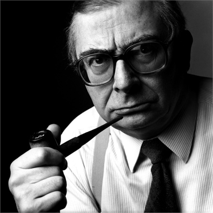 1986, Paris, France --- French director, screenwriter and producer Claude Chabrol. --- Image by © Didier OlivrÈ/Corbis