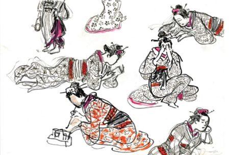 el mar akira-kurosawa-storyboard-acercatealarte-museo-abc-ilust