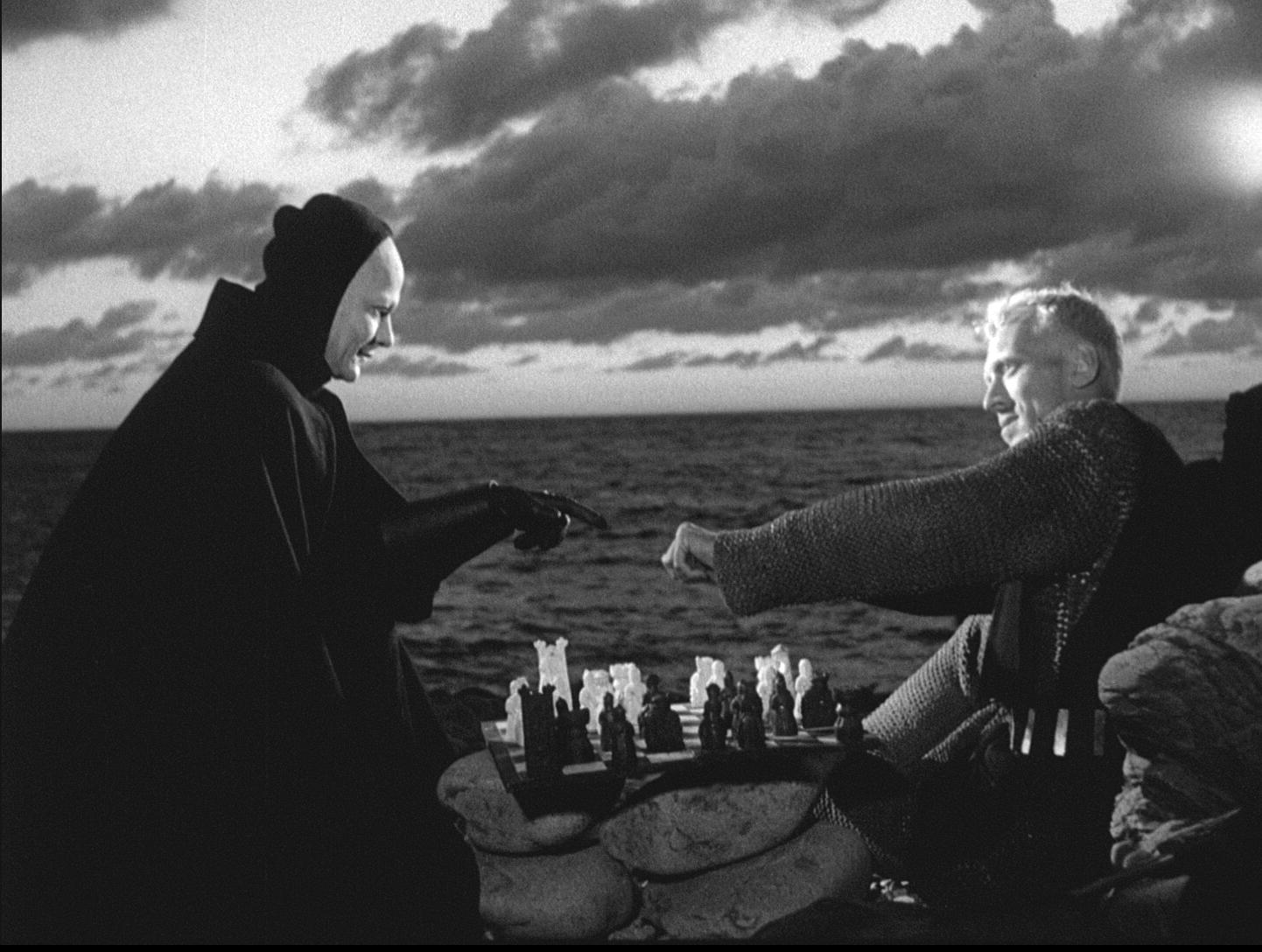 Resultado de imagen para bergman juego de ajedrez muerte pintura